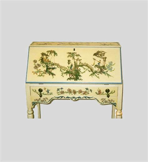 decoupage a desk furniture screens d 233 coupage artists worldwide