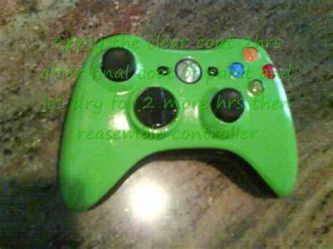 acrylic paint xbox controller how to custom paint your xbox 360 controller official way