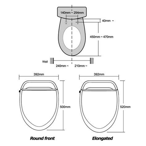 Cing Toilet Usa by Uspa 6800 Bidet Seat Bidetking