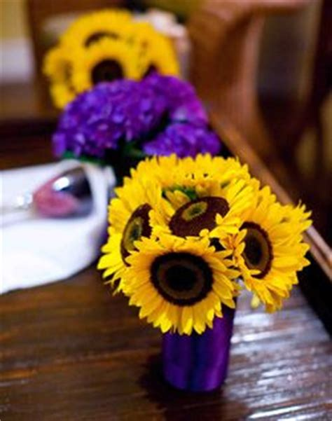 purple and yellow wedding centerpieces best 25 yellow centerpieces ideas on lemon