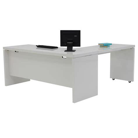 white desk l shaped l shaped desk white