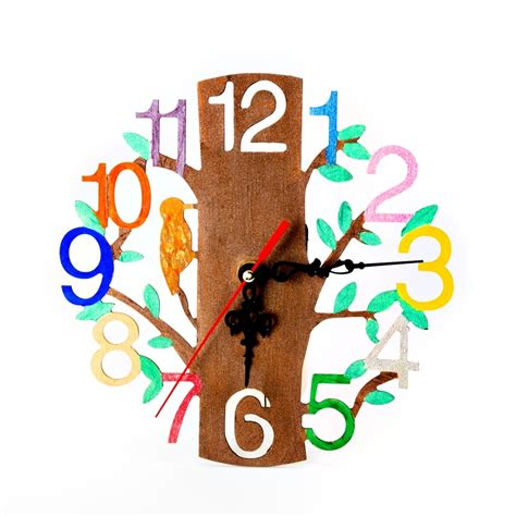 clock mechanisms for craft projects woodland clock for decorating clock mechanism craft