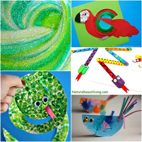 jungle crafts for 10 amazing rainforest crafts can make