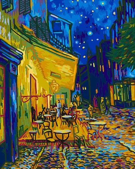 paint nite number gogh paint by number kits paint by number for adults
