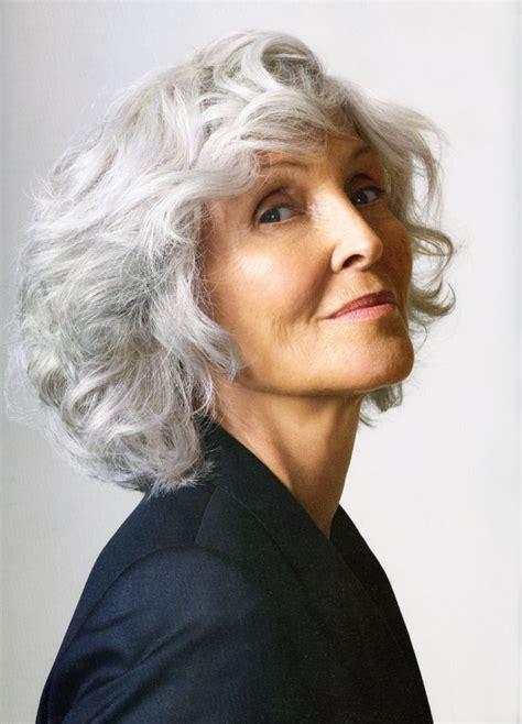 mid length grey hair hair styles hair style mid length gray hair