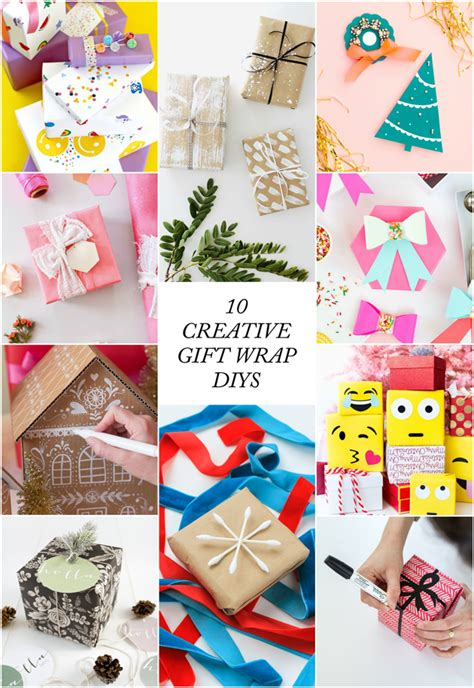 10 creative ways to wrap presents the crafted