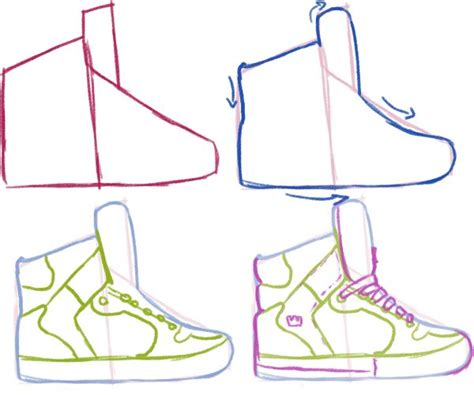 how to draw shoes 25 best shoe drawing ideas on ballet