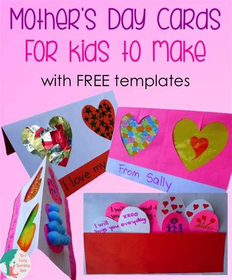 mothers day cards for early years to make s day cards for to make liz s early learning
