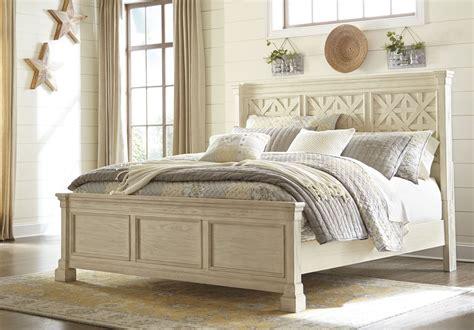 bolanburg white louvered panel bedroom set b647 54 77 96