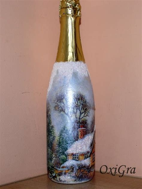 bottle decoupage 306 best images about decoupage bottles on