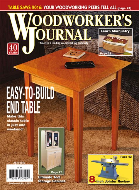 woodworker s journal magazine woodworker s journal march april 2016 187 pdf magazines