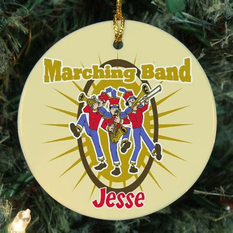 marching band ornaments personalized marching band ornament