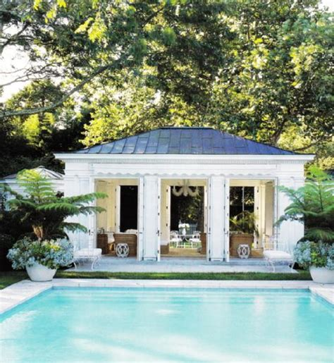 pool house pool house transitional pool