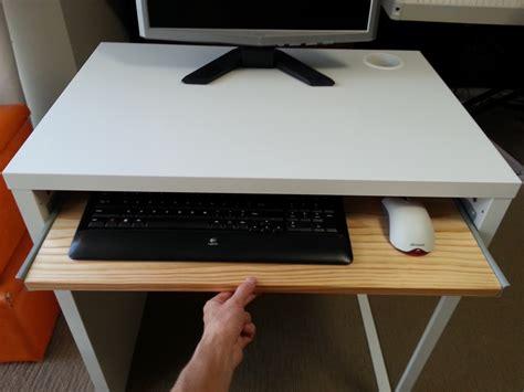 computer desk keyboard drawer ikea micke desk with keyboard tray ikea hackers ikea