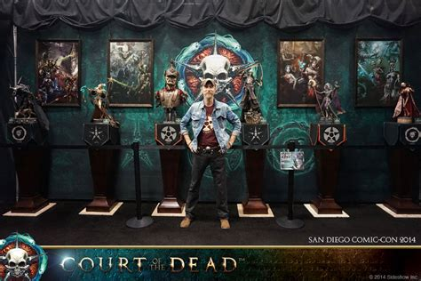 of the dead pictures sideshow s court of the dead gallery on display at san