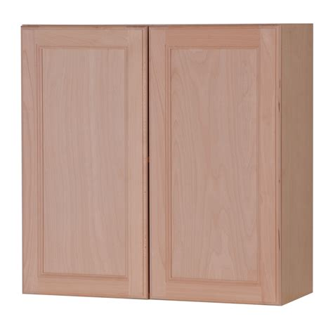 kitchen cabinet doors unfinished shop style selections 30 in w x 30 in h x 12 6 in d