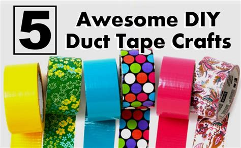 awesome crafts 5 awesome diy duct crafts diy home things