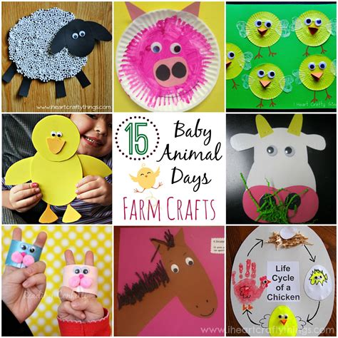 craft projects for babies 15 baby animal days farm crafts for i