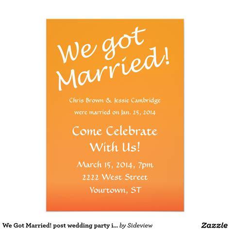 after invitations after wedding invitation wording disneyforever