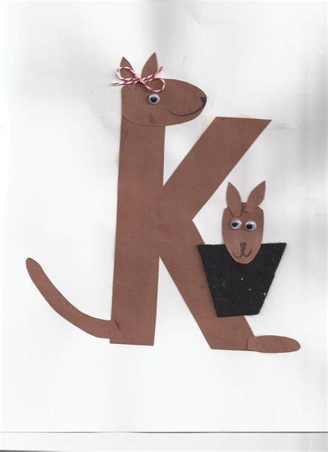 kangaroo craft for kangaroo crafts preschool