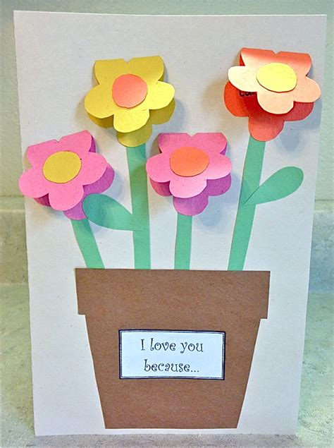 crafts for with paper s day construction paper vase family crafts
