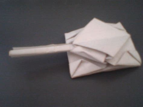 Origami Tank By Dinosauronesy On Deviantart