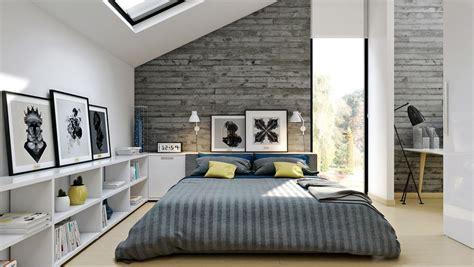 modern style bedroom ideas bright modern loft bedroom design and decor ideas
