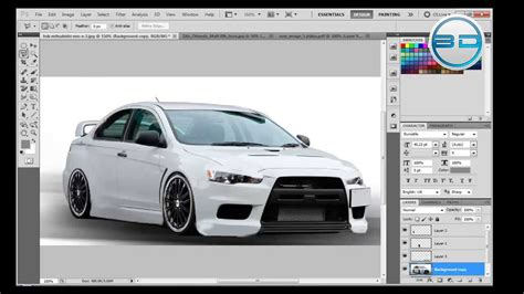 Car Photoshop Program by Photoshop Cs5 Tutorials Tuning And Pimping