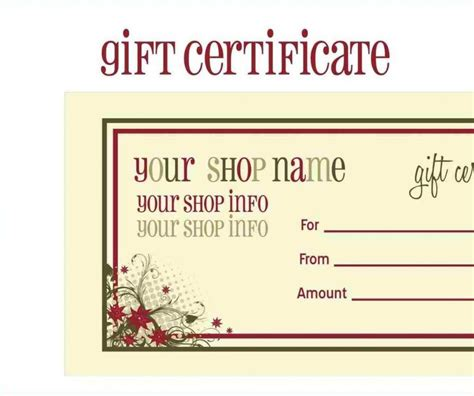 printable card websites for free free printable gift cards templates template update234