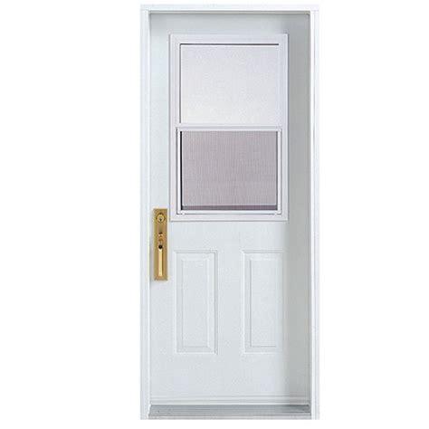 30 exterior door with window 30x80 exterior door shop reliabilt 9 lite prehung