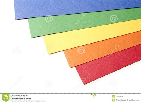 color craft paper bright color craft paper stock photos image 10566623