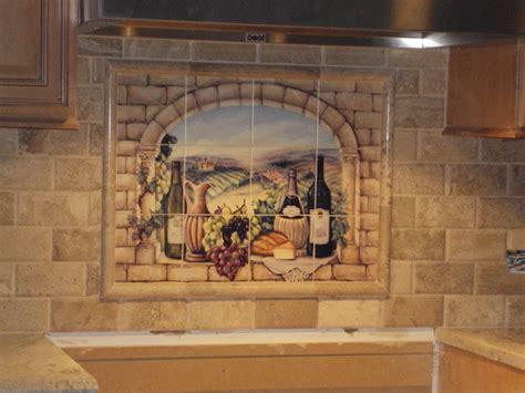 kitchen tile murals tile backsplashes decorative tile backsplash kitchen tile ideas tuscan wine tile mural