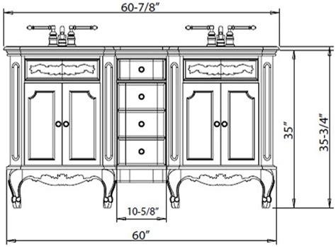 what is a bathroom vanity what is the standard height of a bathroom vanity