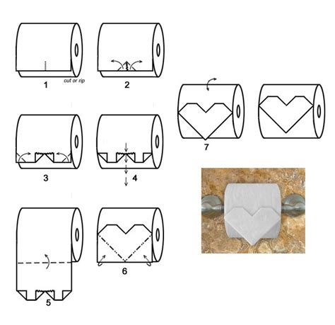 toilet paper roll origami origami toilet paper