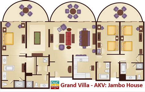 animal kingdom grand villa floor plan animal kingdom grand villa floor plan disney s animal