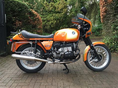 Bmw R100 by Restored Bmw R100 7 1978 Photographs At Classic Bikes