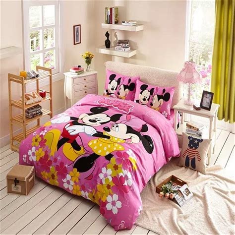 mickey and minnie comforter set buy wholesale minnie mouse comforter set from china