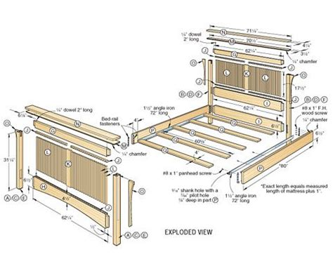 woodworking plans beds 17 best ideas about woodworking bed on