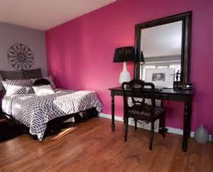 black and pink bedroom furniture color that work well in combination with black furniture