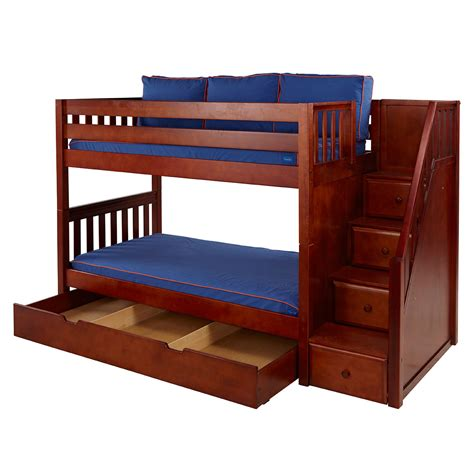 on bunk beds bunk beds maxtrix furniture maxtrix