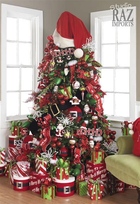santa tree decorations tree decoration ideas today s every