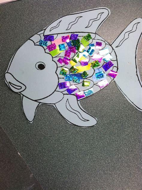 fish craft ideas for rainbow fish craft arts crafts school