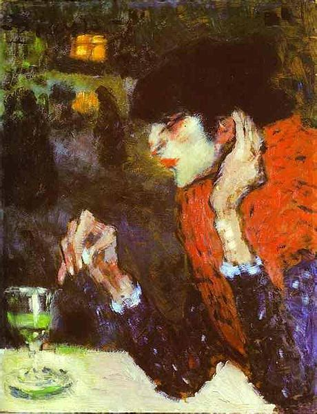 picasso earliest paintings figurative expressionism subjectivity and distortion on