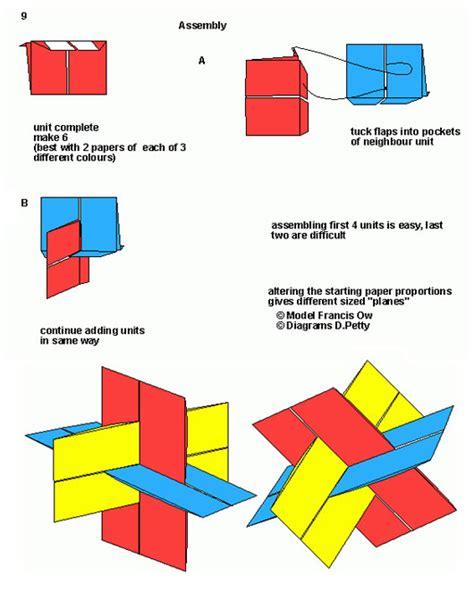 origami modular diagrams ikuzo origami