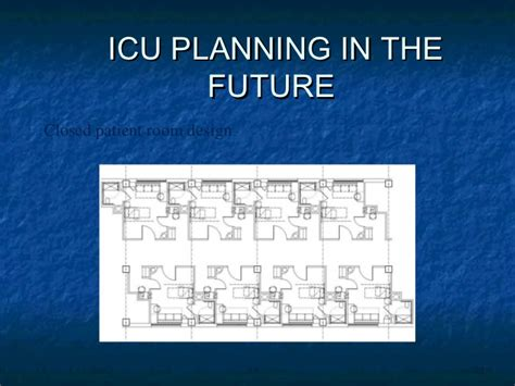 Room Layout Generator planning and specification of intensive care units