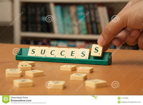 is rv a word in scrabble success word in scrabble letters royalty free stock images