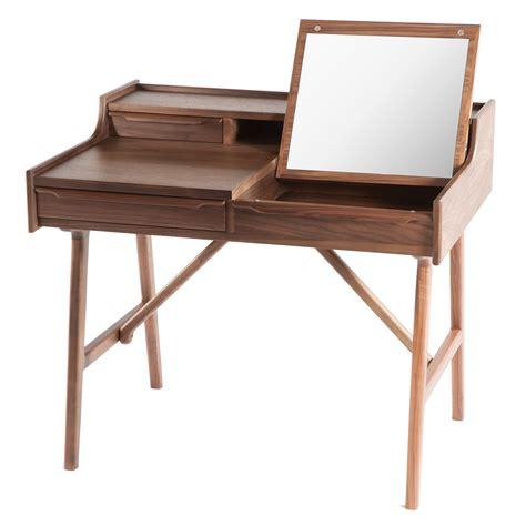 desk with mirror dcor design vanity desk with mirror wayfair