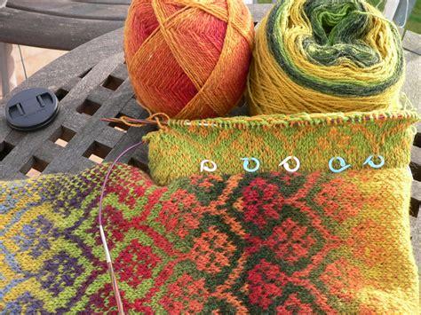 how to fair isle knit fair isle west coast knitter