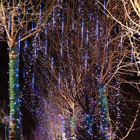 led cascading icicle lights lights meteor shower led cascading icicle lights