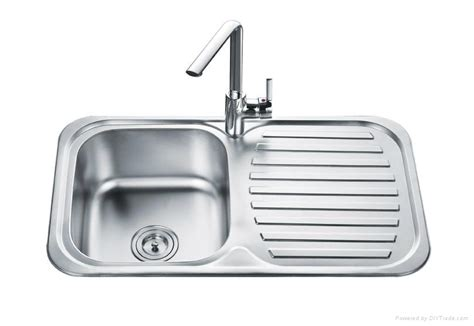 single bowl kitchen sink with drainer single bowl with drainer bowl kitchen sink od 8248a